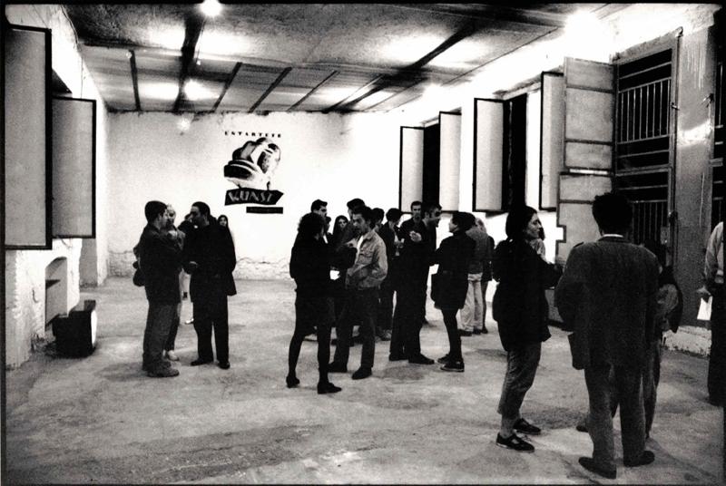 Different Opinion, Arte Degenerata, veduta dell'installazione. Foto di Davide Bonasia