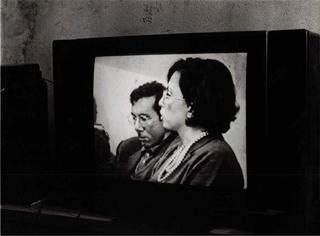 Paola Di Bello, Il circolo virtuoso, Paola Di Bello con il critico Marco Senaldi