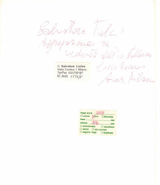 Salvatore Falci, Canalizzazioni, La precisione di Salvatore Licitra