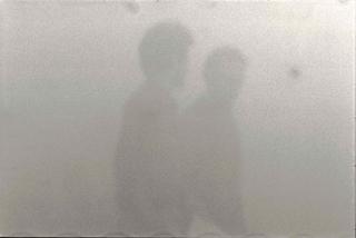 Different Opinion, Senza titolo I, intervento con la nebbia sintetica. Foto di Davide Bonasia