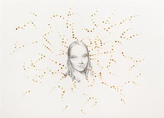 Margherita Manzelli, Il vascello fantasma, Untitled, 2014 graphite and pastel on paper 56 × 77.2 cm