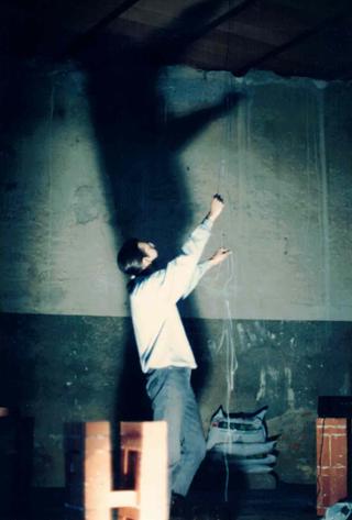 Immagini proiettate, Gianluca Codeghini non ne voleva sapere di salire sulla scala