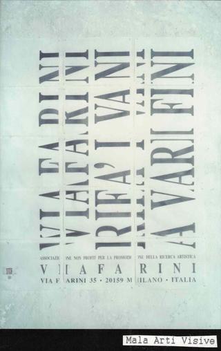 Membership Viafarini - 80 manifesti per Viafarini, Manifesto di Mala Arti Visive, il logo