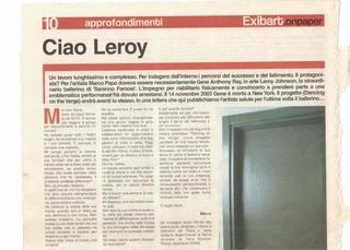 Morte di Leroy