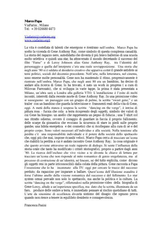 Per Artforum di Francesca Pasini