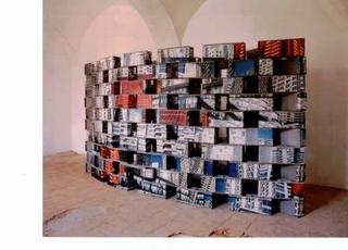 Progetto al Castello di Rivara, 1991