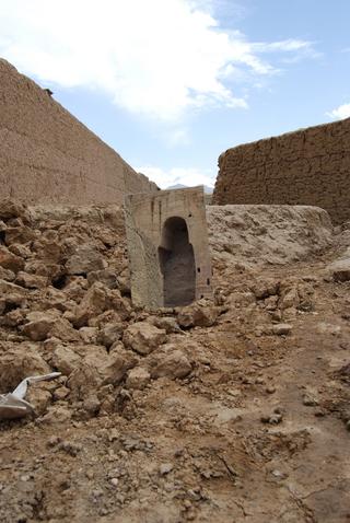 William Cobbing, Man in the Planet, Bamiyan Mirror, 2009 fotografia c-type
