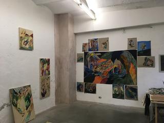 Saremo in pochi - Viafarini Open Studio, Lucy Jane Turpin