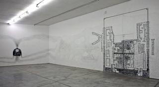 Kim Jones, residenza, mostra e workshop, Veduta dell'installazione