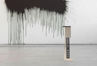 Gabriele Garavaglia, W 3 L λ, up Riot (2012) - detail Water paint Dimensions variable