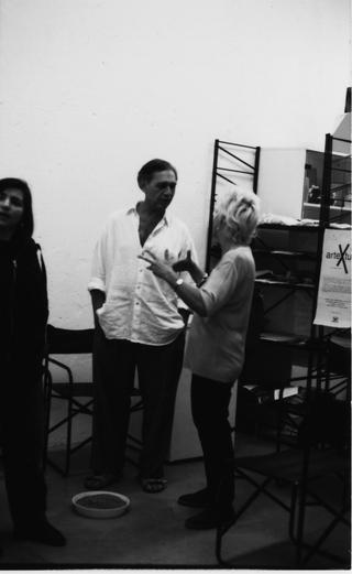 Jimmie Durham, Jimmie Durham con Francesca Pasini, 1997