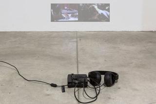 """Workshop e progetto espositivo Academy Awards """"Beg to differ"""", Valentina Furian Qui sono i leoni, 2015 Video HD, 4'5'' loop Foto di Ezio Roncelli"""