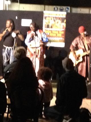 Intercultura - Capitolo 17 DouDou Ndiaye Rose e Youssou N'Dour, DouDou Ndiaye Rose alla Fabbrica del Vapore, 18 ottobre 2013