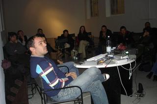 """Workshop per giovani artisti """"Wherever We Go - Ovunque andiamo"""", Workshop con Adrian Paci."""