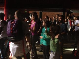 Intercultura - Capitolo 5 Attività attività attività, Pubblico intergenerazionale allo spazio TU di Mascherenere/Sunugal, Fabbrica del Vapore, 2014