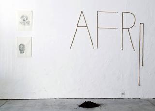 Viafarini Open Studio, Binta Diaw. Foto di Andrea Wyner