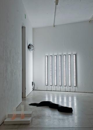 Viafarini Open Studio, Nicolò Masiero Sgrinzatto. Foto di Andrea Wyner