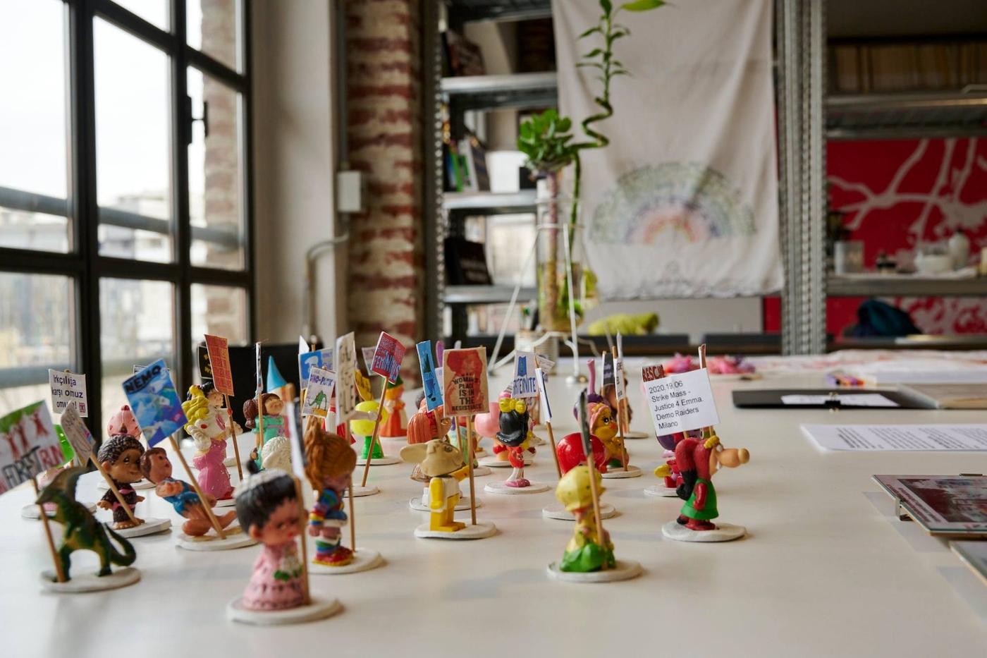 Viafarini Open Studio, Rebecca Agnes. Foto di Leo Torri