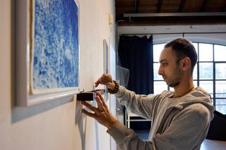 Viafarini Open Studio, David Michel Fayek. Foto di Leo Torri