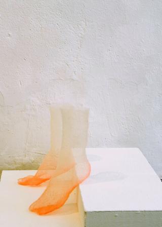 Viafarini Open Studio, Ana Mrovlje. Foto di Andrea Wyner