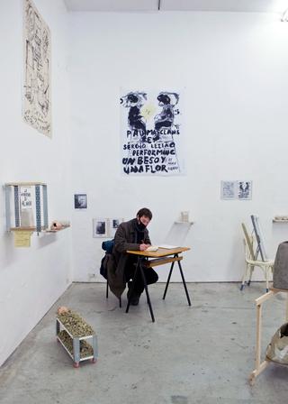 Viafarini Open Studio, Pau Masclans Pazos. Foto di Andrea Wyner