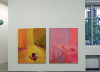 Viafarini Open Studio, Emily Mannion. Foto di Andrea Wyner