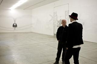 Kim Jones, Kim Jones e Nico Vascellari. Foto di Zeno Zotti