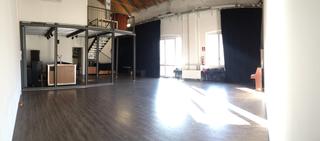 Intercultura - Capitolo 3 La collaborazione, Lo spazio Mascherenere/Sunugal alla Fabbrica del Vapore dopo la rifunzionalizzazione, primavera 2014