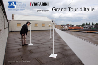Grand Tour d'Italie, Locandina.Zimmerfrei, Belvedere Aalst, 2012, Stereoscopic photographic installation with soundscape, courtesy the artist