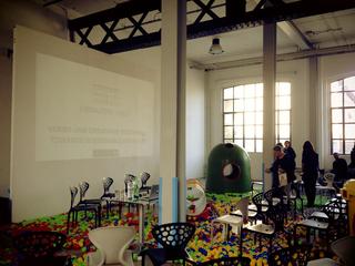 """Low Cost Design Park, """"Verso una creatività sostenibile"""" , incontro con Michelangelo Pistoletto, Alessandro Mendini e Daniele Pario Perra organizzato con Fondazione Furla."""