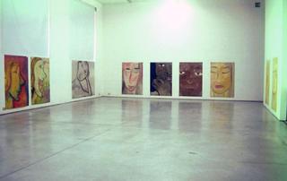 Filippo La Vaccara, Attraverso gli occhi, Veduta della mostra