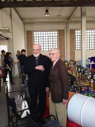 """Low Cost Design Park, """"Verso una creatività sostenibile"""" , in primo piano Michelangelo Pistoletto e Alessandro Mendini."""