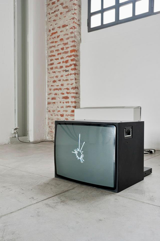 Angelo Sarleti, Antologia, Star o sulle medie imprese italiane quotate in borsa, 2012 animazione video, loop Foto di Davide Tremolada