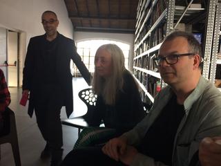 People | Artists, Gianluca Codeghini con Ginevra Quadrio Curzio, 2017