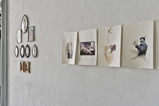 """Workshop e progetto espositivo Academy Awards """"Fuori dalla gabbia di Faraday"""", Francesca Santambrogio, Tagliacuci, collage e disegno, otto fogli cm. 29,7 x 42 cad., 2011  Dopo centocinquanta anni dalla sua unificazione, l'Italia è ancora da assemblare. Al suo interno forze discordi spingono in direzioni diverse. Tagliacuci cerca di recuperare alcune immagini costitutive della nazione e di comporle per mezzo del disegno e del collage, nel tentativo di creare un corpo unitario. I risultati, spesso grotteschi, rivelano otto soggetti ibridi, testimoni di suture e fusioni, per non dimenticare quanto grandi siano le abilità sartoriali del nostro paese.  Foto di Davide Tremolada"""