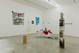 VIR Viafarini-in-residence, Open Studio, Cristobal Gracia. Foto di Davide Tremolada