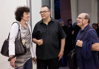 People | Artists, Patrizia Brusarosco, Gianluca Codeghini ed Elio Grazioli, 2017
