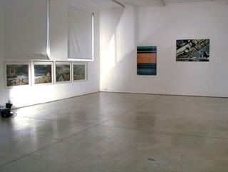 Lorenza Lucchi Basili, Michele Morosinotto, Gregorio Paonessa, Synthex, Quattro teorie sul paesaggio, Vedutadell'allestimento