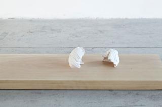 """Workshop e progetto espositivo Academy Awards """"Beg to differ"""", Margherita Raso Lottatori, 2015 Porcellana, legno Foto di Federica Boffo"""