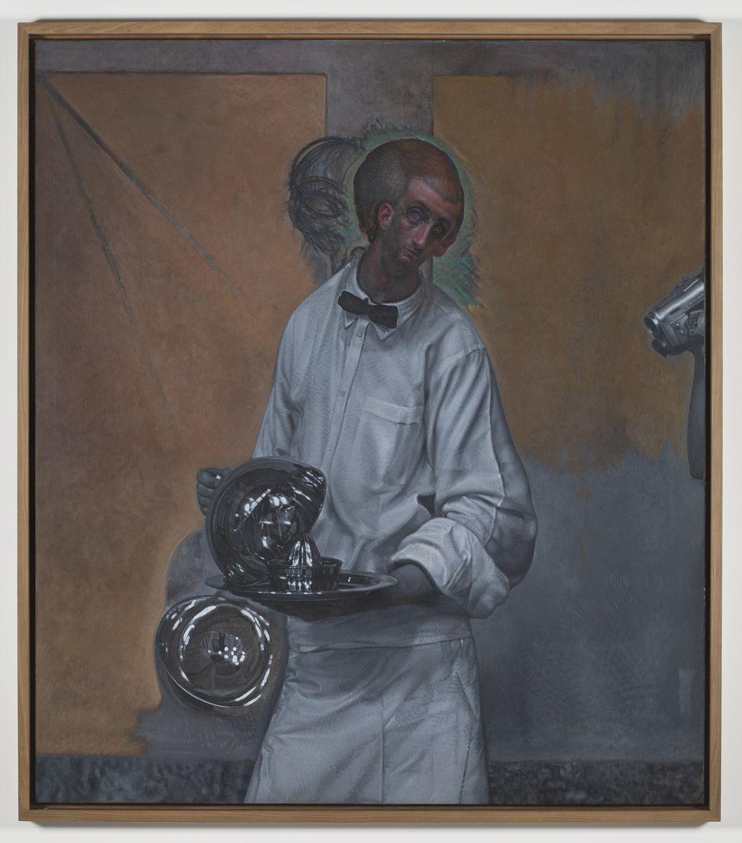 Pietro Roccasalva, O.H. Situazione d'opera in quattro stanze, Pietro Roccasalva, Il Traviatore, 2011, soft pastel on paper on forex