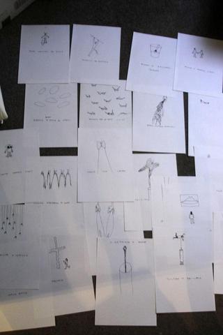 Gabriele Picco,Disegnacci e disegnini, Disegni per la Fondazione Antonio Ratti