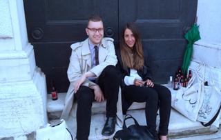 People | Family, Giulio Verago con Amara Antilla alla Biennale d'Arte di Venezia, 2013
