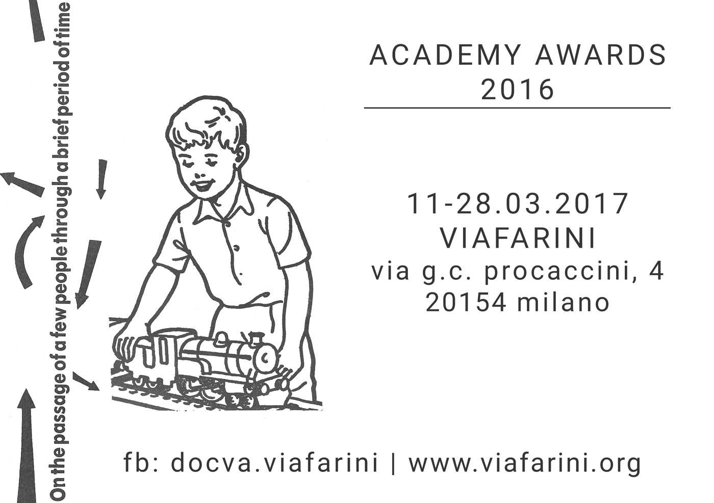 Workshop e progetto espositivo Academy Awards 2016