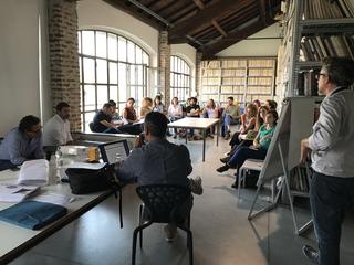 """Intercultura - Capitolo 5 Attività attività attività, """"Training for Social Innovation"""", ciclo di formazione a cura di Linda Pasina, Archivio DOCVA, 2017"""