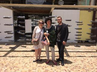 Intercultura - Capitolo 12 Ricordi di viaggio, Sybille, Patrizia e Giulio visitano la Biennale di Dakar, 2016
