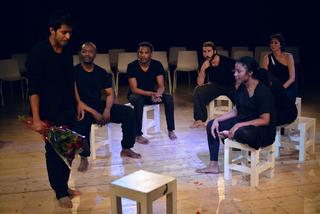 Intercultura - Capitolo 5 Attività attività attività, Olivier Elauti, laboratorio teatrale diMascherenere