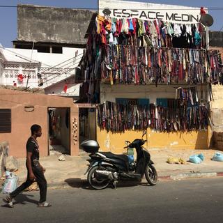 Intercultura - Capitolo 12 Ricordi di viaggio, Espace Medina a Dakar, spazio-progetto gestito dall'artista Moussa Traorè