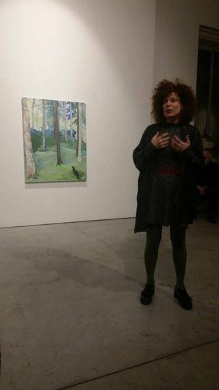 Painters Club - short artist talks about painting, Vera Portatadino