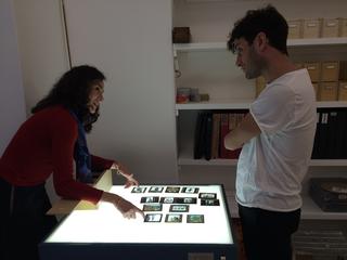 People | Family, Simone Frangi in visita allo studio di Linda Fregni Nagler, 2015