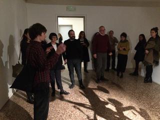 People | Family, Stefano Colettocon Marco Tagliaferro e i giurati per la Fondazione Bevilacqua La Masa diVenezia, 2015